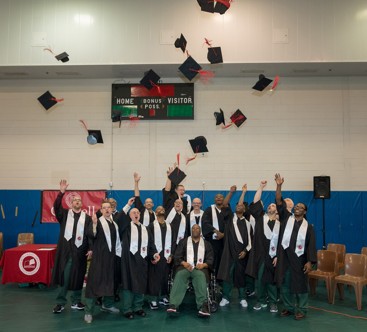 Prison education program graduates 16 at Five Points