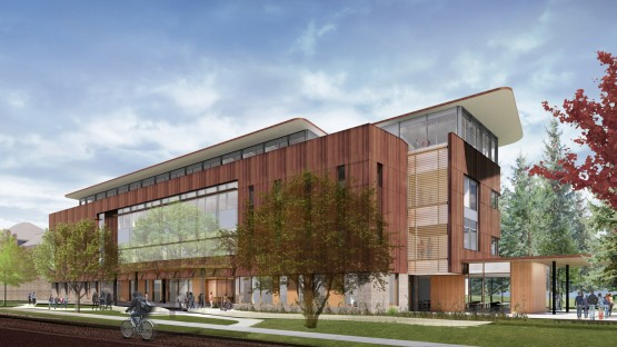 Rendering of Atkinson Hall