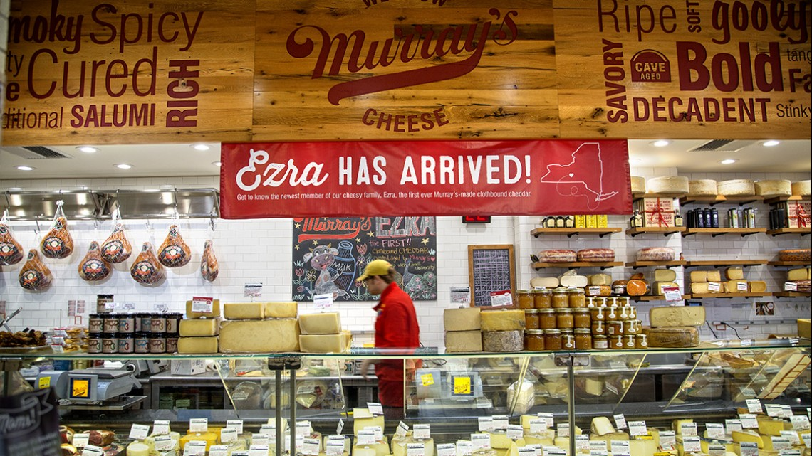 Murray's Cheese shop in Greenwich Village