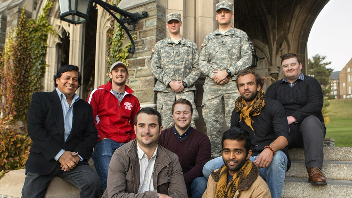 Members of the Undergraduate Veterans Association
