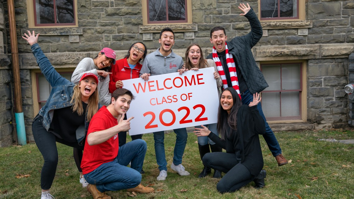 Students welcome Class of 2022