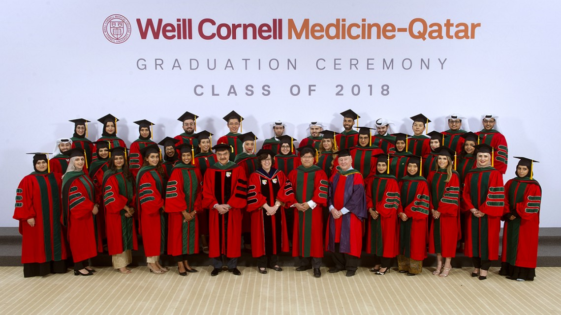 Weill Cornell Medicine-Qatar celebrates Class of 2018
