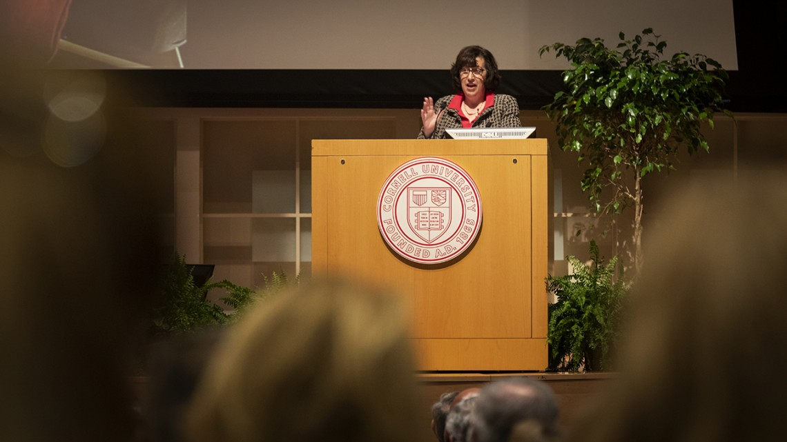 Martha Pollack delivers State of the University