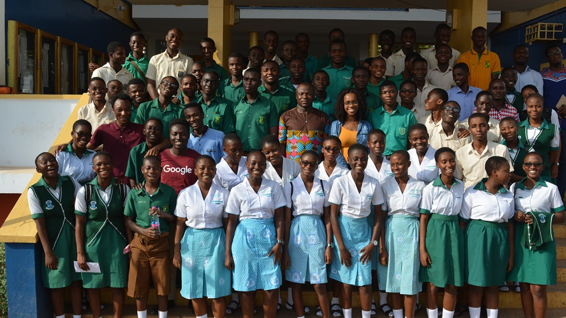 Ghana computer science students