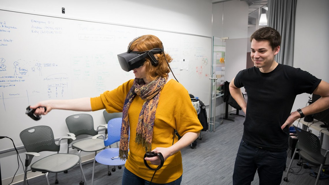Study probes effect of virtual reality on learning | Cornell