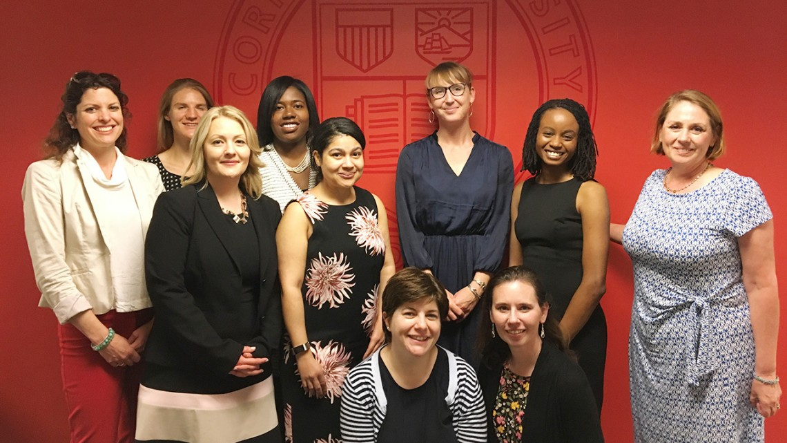 Cornell Women's Grant Fellows Workshop in Washington, D.C.