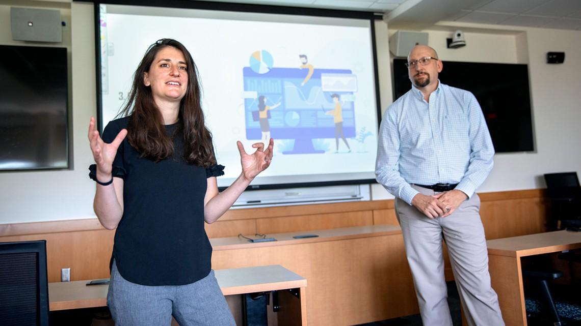 Andrea Ippolito and Robert Newman
