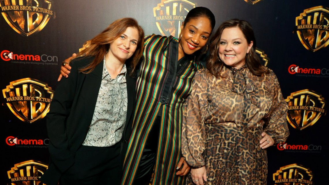 Berloff with Haddish and McCarthy