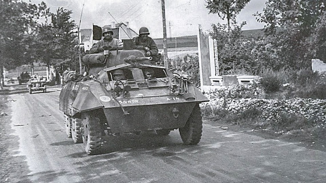 Josefson in M8 vehicle in Luxembourg