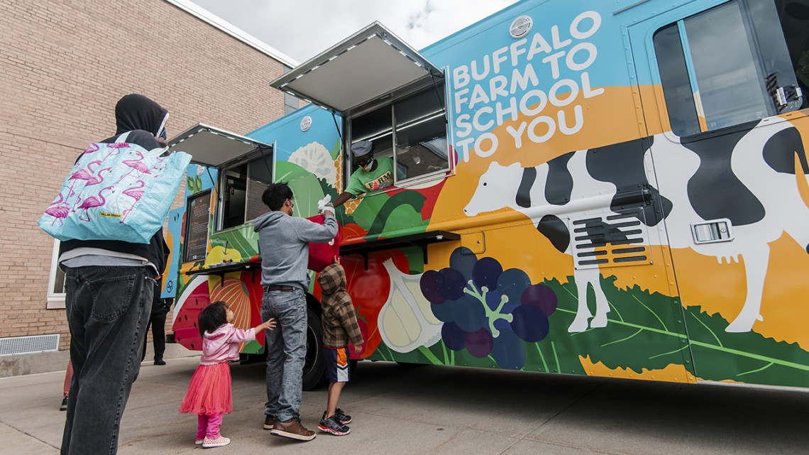 Buffalo school food truck