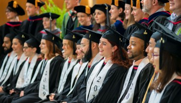 Cornell Master of Public Health program's inaugural graduating class