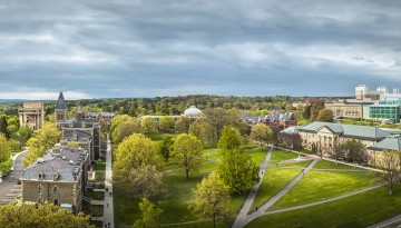 Arts Quad from the air