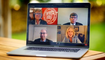 an online town hall meeting hosted by Cornell on June 8