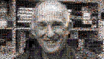 Don Greenberg pixelated image