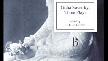 Book cover: Githa Sowerby, Three Plays