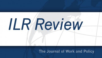 Cover for the ILR Review