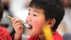 Child eating ice cream