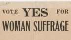 Suffrage broadside