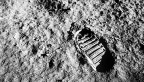 Apollo 11 Buzz Aldrin foot